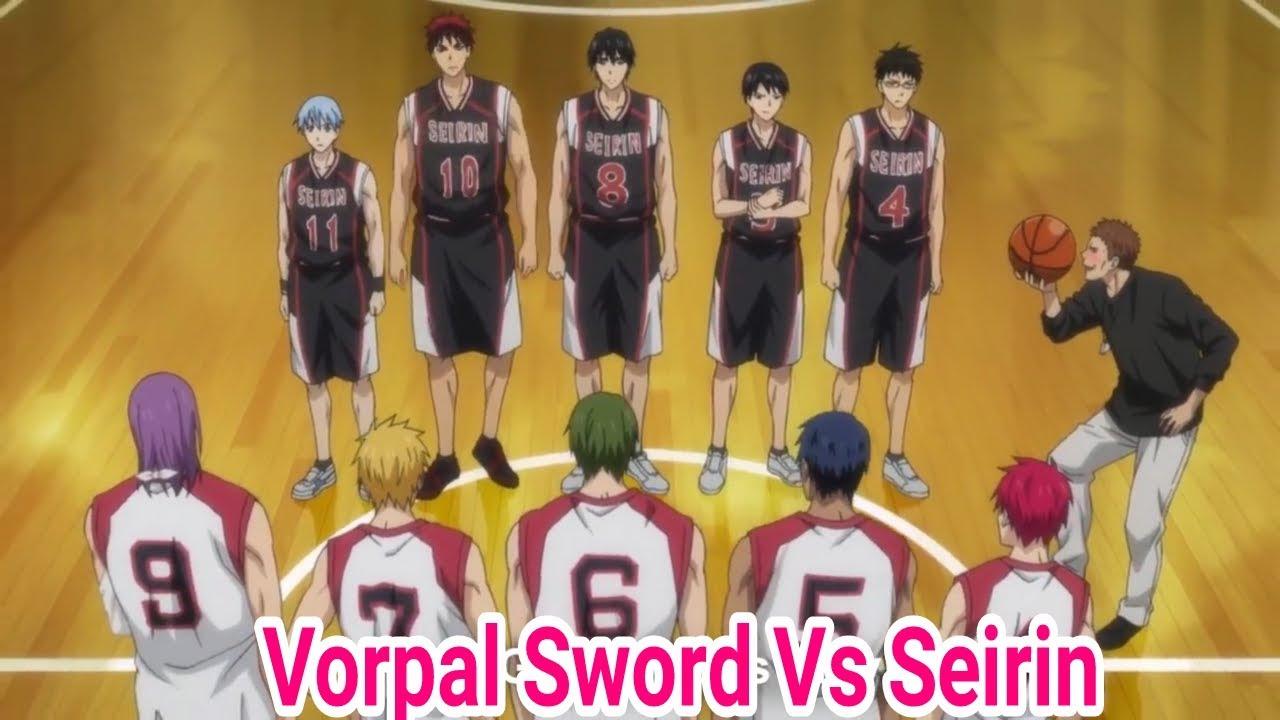 kuroko no basket last game vorpal sword vs seirin youtube