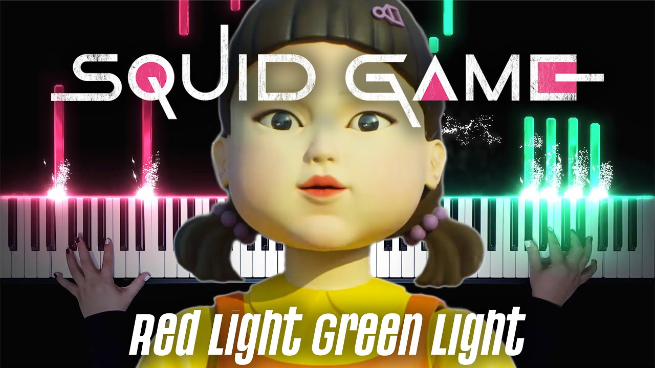 If RED LIGHT GREEN LIGHT played by the SQUID GAME players!