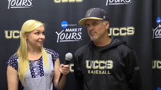 Baseball  Coach Hajek recap on UCCS vs  MSU Denver