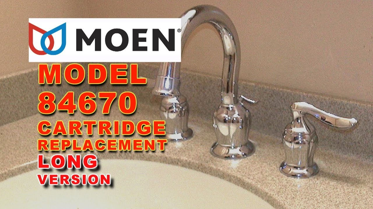 moen faucet cartridge replacement model 84670 eliana long version rh youtube com