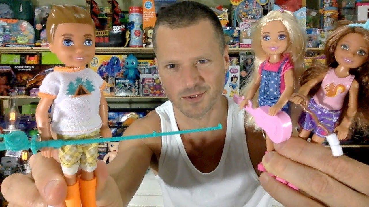 Barbie Camping Fun Boy with Fishing Pole