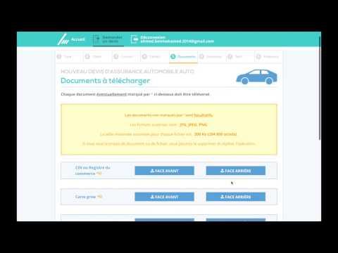 Nouveau Devis d'Assurance Automobile sur Sicareme Online