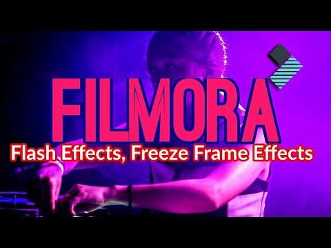 Wondershare Filmora How To Add Flash Effects Filmora Flash Transition Effect In Filmora Filmora Youtube