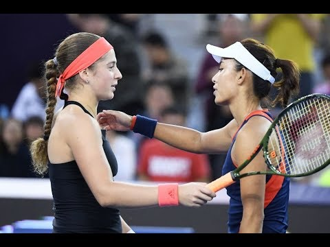 Jelena Ostapenko vs. Wang Qiang | 2018 China Open Second Round | WTA Highlights