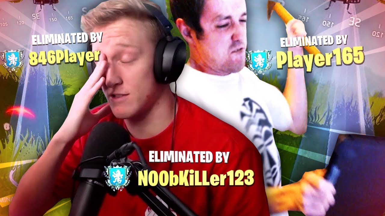16 minutes of streamers getting ANGRY at Fortnite thumbnail