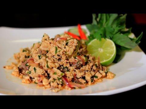 Thai Restaurant Week 2013 – Larb Gai – Herbal Thai