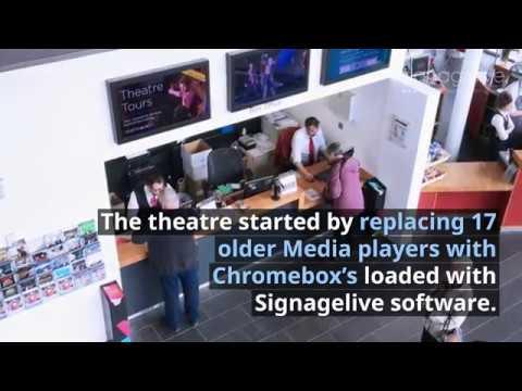 Marlowe Theatre upgrades to Signagelive digital signage platform