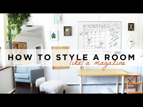 WHY DOESN'T MY SPACE LOOK LIKE A MAGAZINE? STYLING TIPS + GIVEAWAY   THE SORRY GIRLS