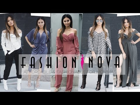 FASHION NOVA HAUL TRY ON⎮AFFORDABLE MOM OUTFITS⎮HAUS OF SHERRY