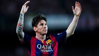 Lionel Messi - UEFA Best Player of Season 2015 HD
