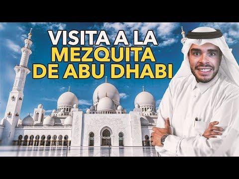 VISITANDO MEZQUITA ABU DHABI