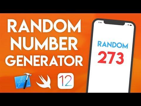 Swift 4.2 Xcode Tutorial - Random Number Generator - iOS 12 Geeky Lemon Development thumbnail