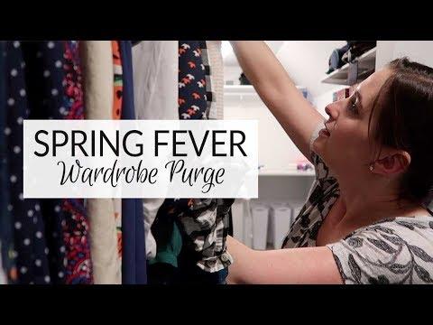 Spring Fever | Wardrobe Purge Vlog