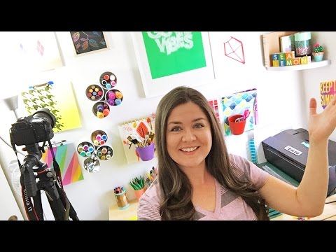 🔴 LIVE: My Office & Craft Room Tour!