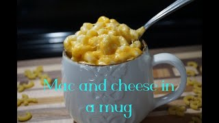 How i made mac and cheese in a mug | Easy Peasy