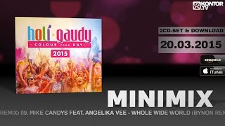 Holi Gaudy 2015 - Colour Your Day! (Official Minimix HD)