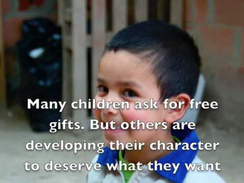 Help with poor children education. Fundacion Escala - YouTube