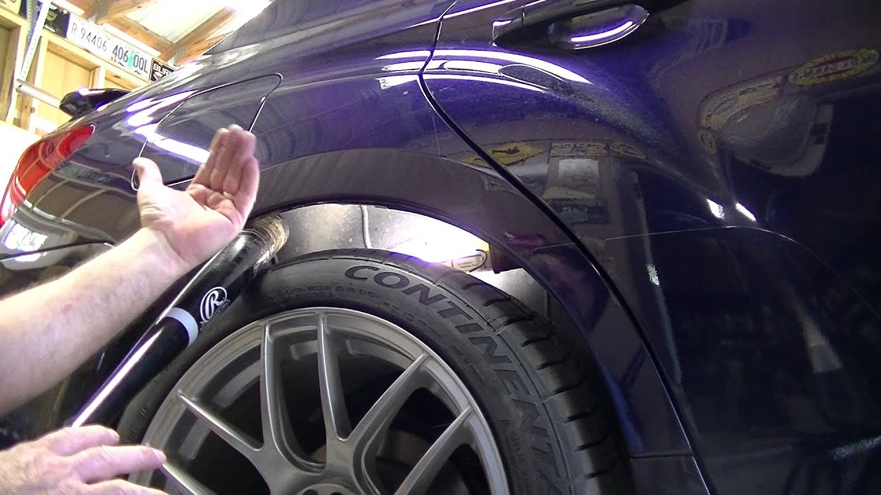 Garage Bmw Angers Rolling Fenders For Tire Clearance On The Cheap Angry Mechanic