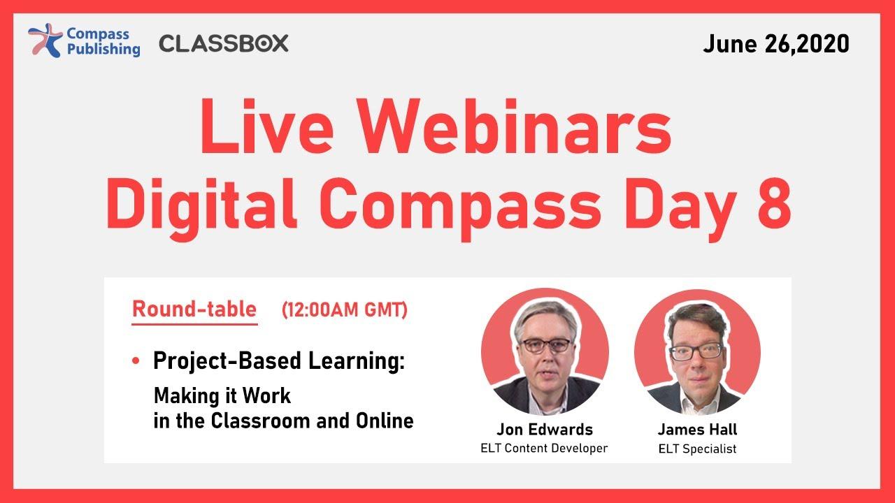Digital Compass Day 8 – Online Webinars
