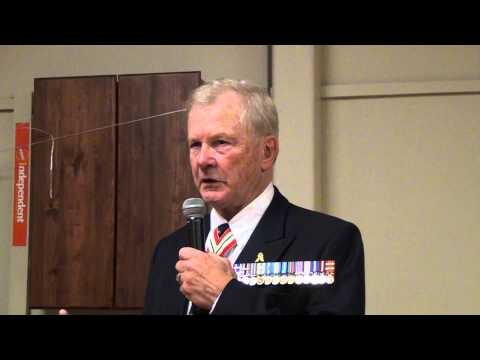 General Lewis MacKenzie(Retired) speaks to Coldwell Banker Banner Presentation