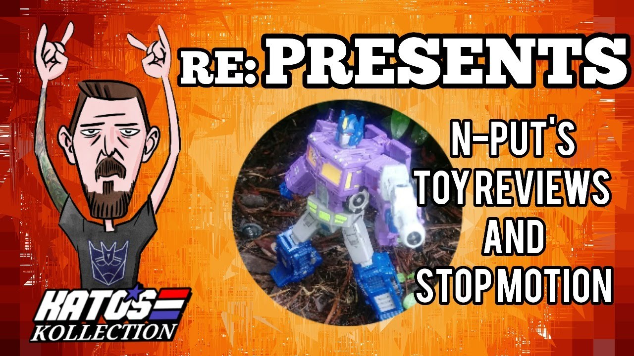 Kato re: PRESENTS: N-Put Toy Reviews and Stop Motion