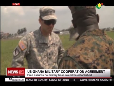 #NEWS360 - US- GHANA MILITARY DEAL -  6/4/2018