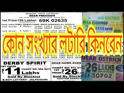 Lottery Formula || Wining Daily Lottery || Bangla ||