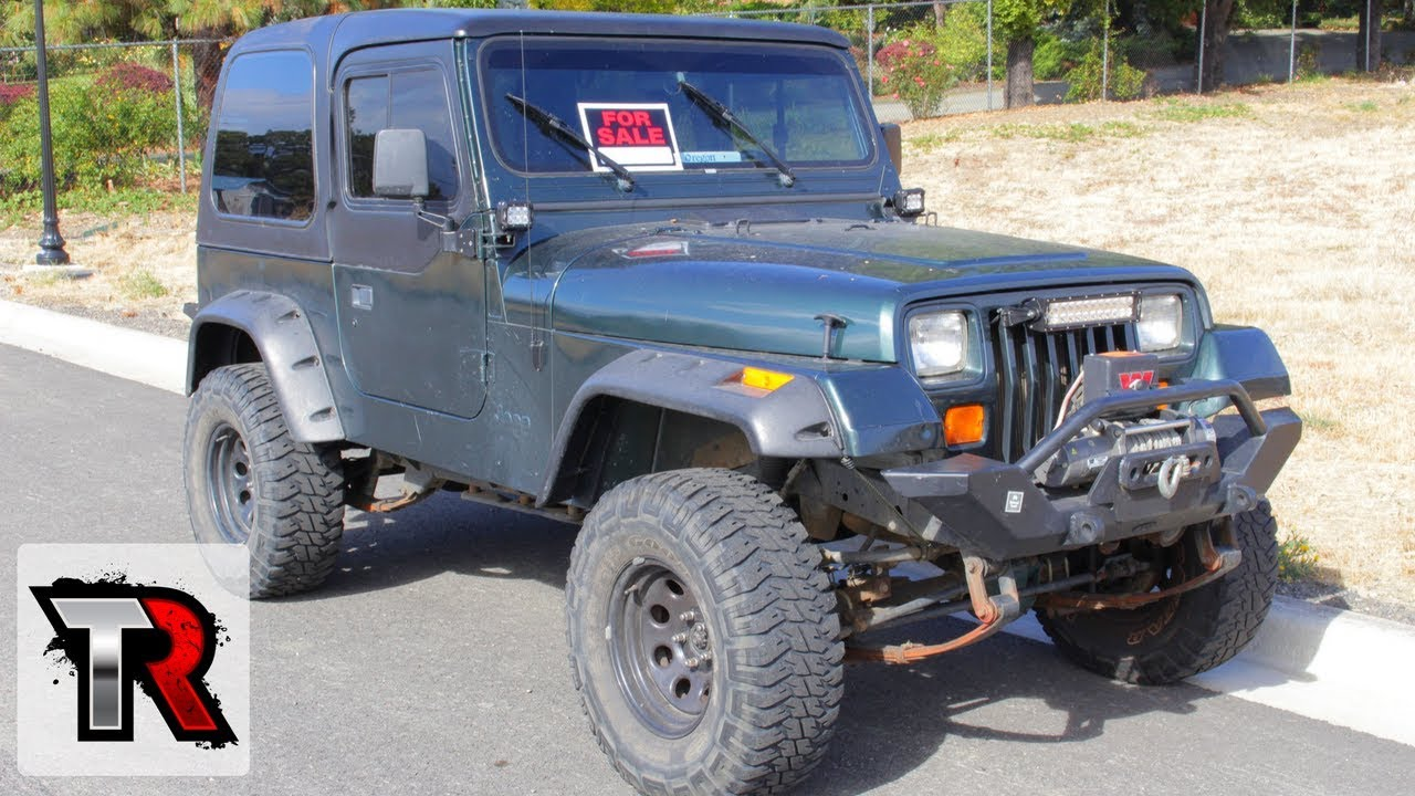 Tips To Buying A Used Jeep Yj