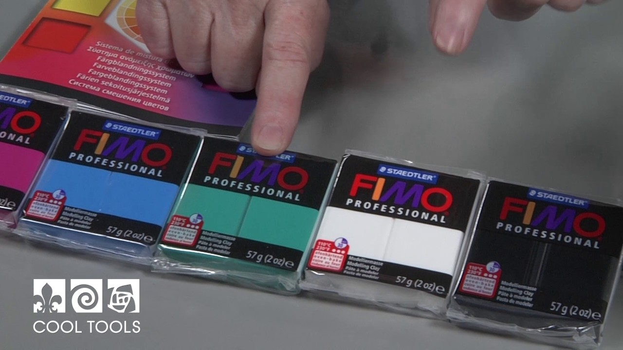 Cool Tools | FIMO Professional True Color Overview by Deb DeWolff