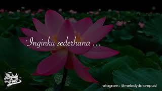 Mengertilah Melody Dalam Puisi Panji Ramdana