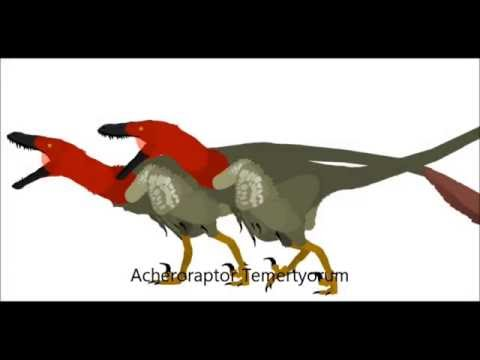 PPBA Acheroraptor vs Edmontosaurus