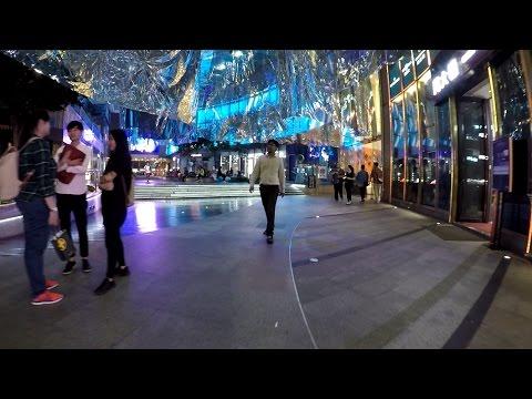 Hong Kong at Night - Shopping Center K11