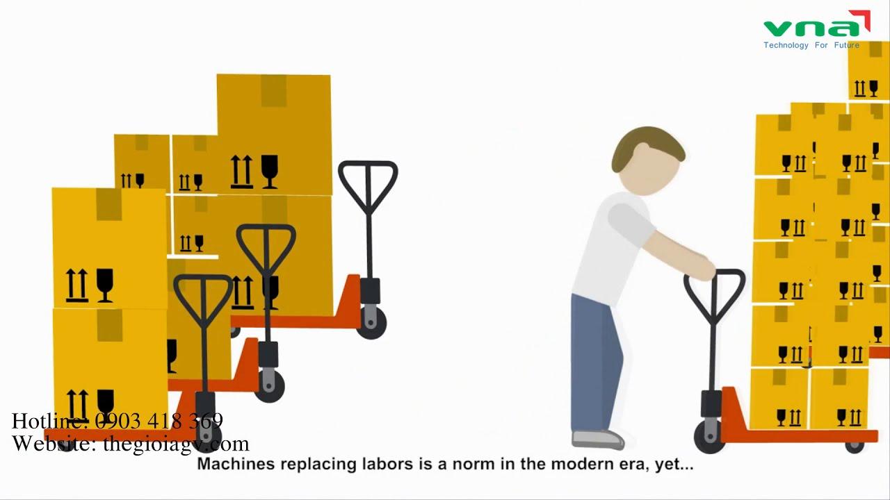 Xe tự hành giải pháp vận chuyển cho nhà máy | Thế giới AGV 0903 418 369