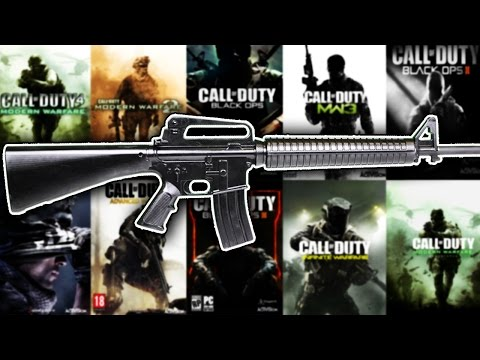 The Evolution of The M16 in Every Call of Duty