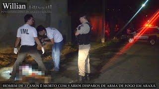 Comando 190 Araxá - Homem de 32 anos é morto com disparos de arma de fogo em Araxá.