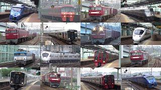 【JR鹿児島本線】土曜早朝にスペースワールド駅を通過する列車 【続々列車】