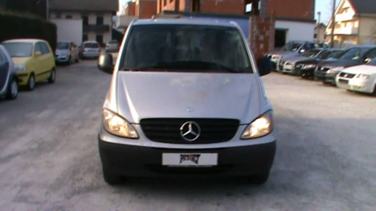 2003 mercedes vito 111 cdi lwb full review start up engine and in depth tour youtube. Black Bedroom Furniture Sets. Home Design Ideas
