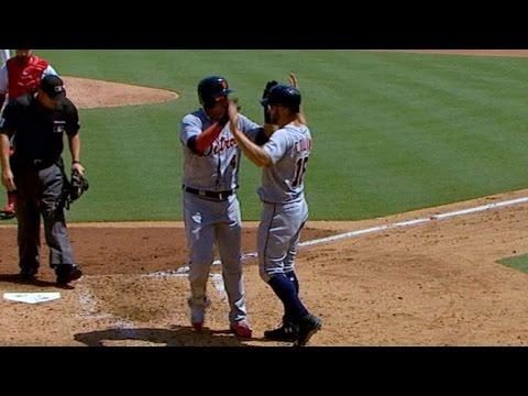 DET@TEX: Tigers launch four home runs vs. Rangers
