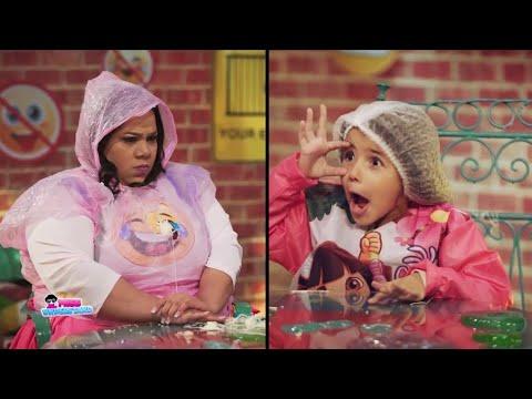 الطفلة كنزي هتموت شيماء سيف من الضحك في غرفة ممنوع الضحك😂😂😂