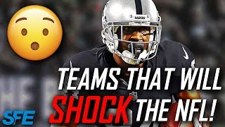 TOP 6 TEAMS THAT COULD SHOCK THE NFL IN 2019 AND MAKE THE PLAYOFFS!