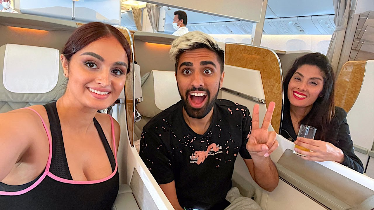 OUR $30,000 BUSINESS CLASS TRIP TO DUBAI !!!