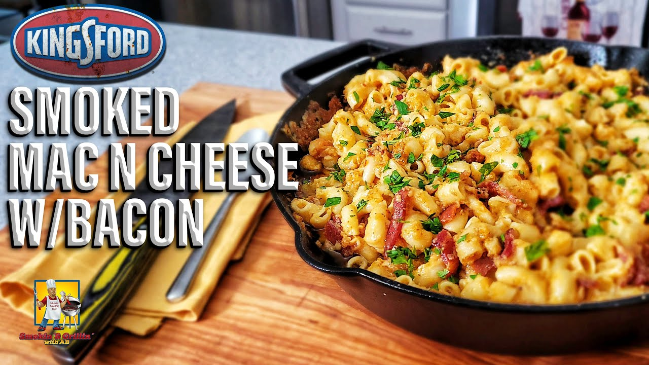 Smoked Mac n Cheese w/Kingsford Classic Pellets   Side Dishes