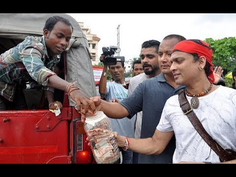 ZUBEEN GARG AT TEZPUR UNIVERSITY(FULL VIDEO) -MISSION CHINA PROMOTION/ HEART TOUCHING CAMPAIGNING