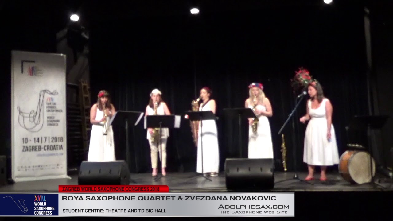 Would be clear water by Zvezdana Novakovic   Roya Saxophone Quartet & Zvezdana Novakovic  XVIII Worl