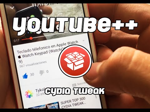 Youtube++  Cydia Tweak -Descarga música y videos de Youtube en iOS 9-