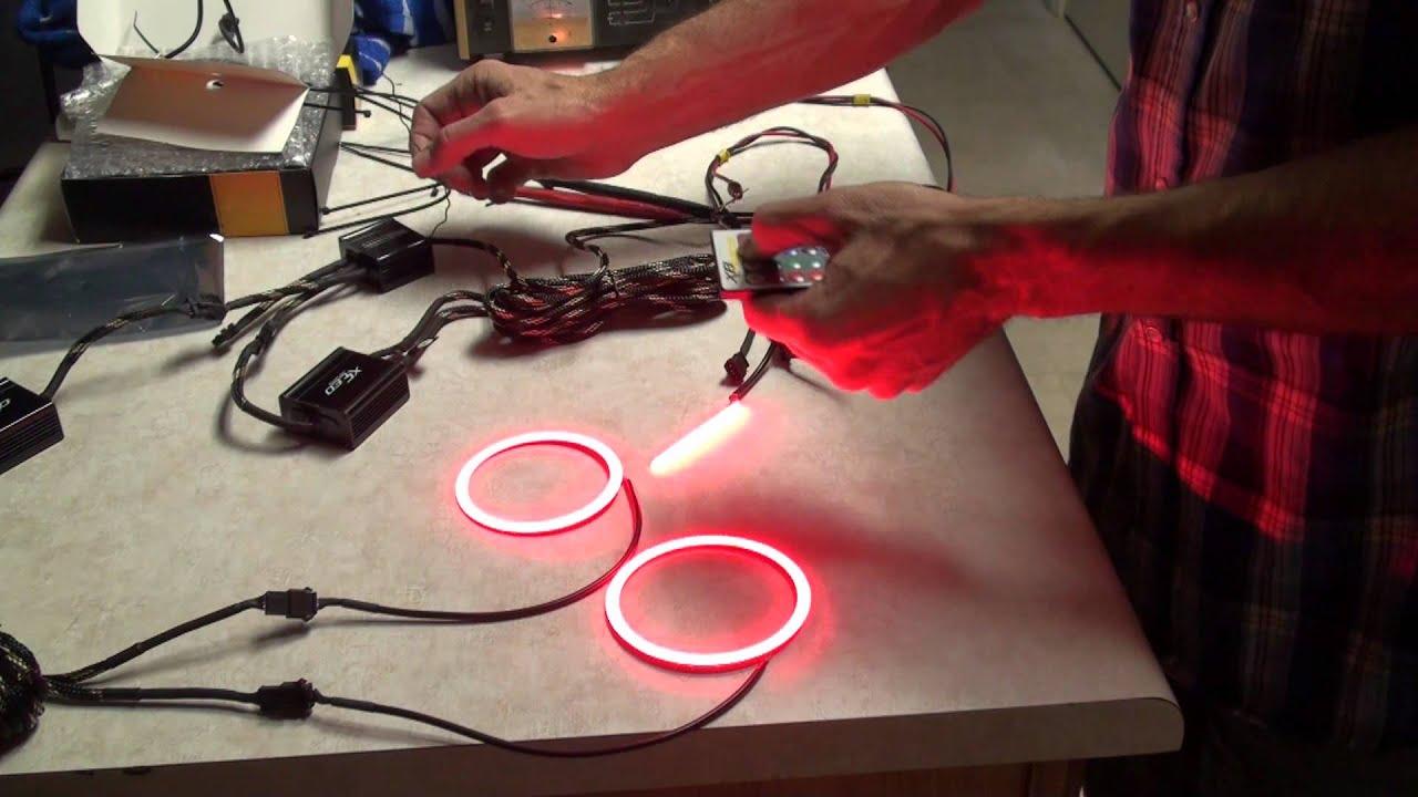 Morimoto Angel Eyes Halos Rgb With Remote Control Youtube No She 05tech Circuit Diagram 06tech Wiring U
