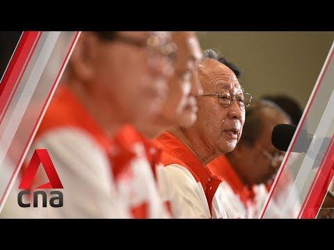 Tan Cheng Bock on Progress Singapore Party's plans