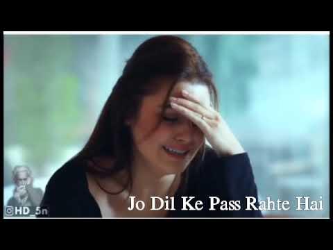 Yeh Mumkin Toh Nahi Jo Dil Ne Chaha Vohil Jaaye   Whatsapp Status Video