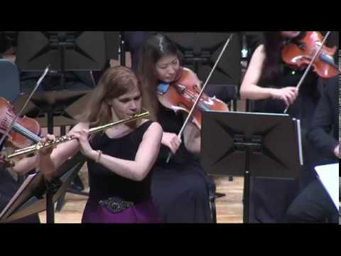 Sharon Bezaly play Jeff Beal's flute concerto, 3rd movement