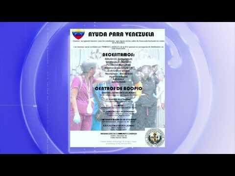 D´Latinos - Iniciativa local busca recolectar medicinas para enviarlas a Venezuela.